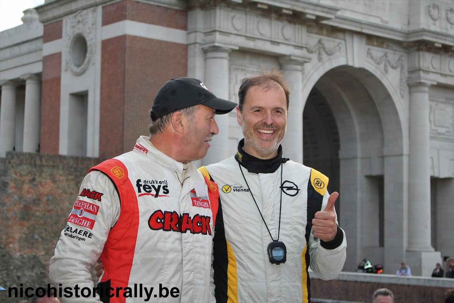 Video FIA  YPRES HISTORIC RALLY is toegevoegd.