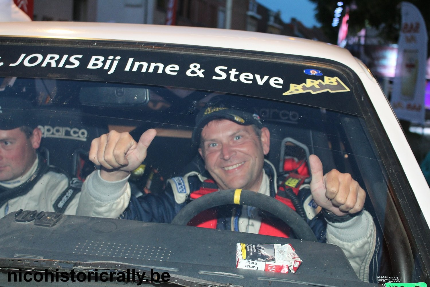 Wedstrijdverslag Pascal Clarys in de Ypres Classic Rally.